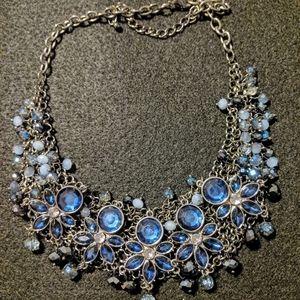 Fantasy silver necklace